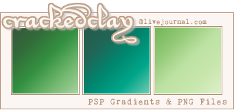 CrackedClay Gradient Set Green by Raeshena