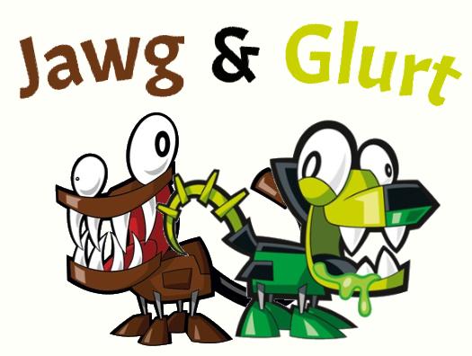 Mixels glurt and jawg