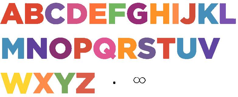 Alphabet Sheet Part 1 by jared33 on DeviantArt