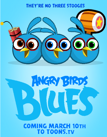 Angry Birds Blues Poster by jared33 on DeviantArt