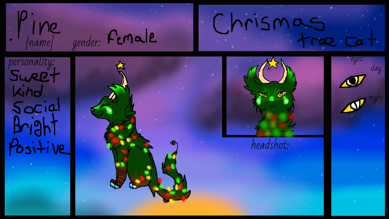 contest entry for mintfire by StarFlareTheCat