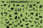 A-Z Animal Brushes PART 2