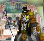 Steampunk Kabukiroid ANIMATED by Master-Kankuro