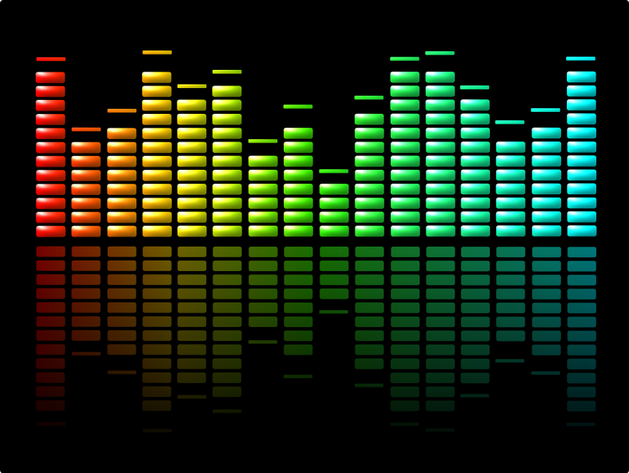 Equalizer Rainbow Signal Stock Photo, Picture And Royalty Free ...