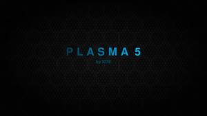 Blue Plasma 5 Hexagon - 10K background