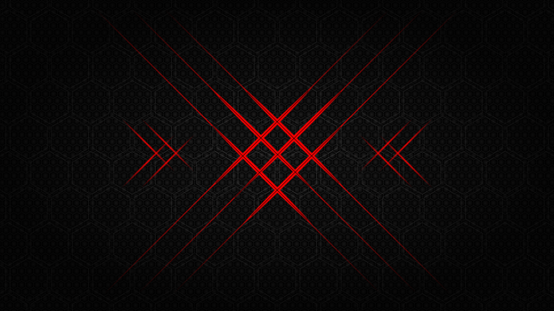 Flash hexagon - 10k background