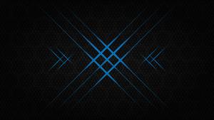 Flash hexagon - 10k background (Blue)