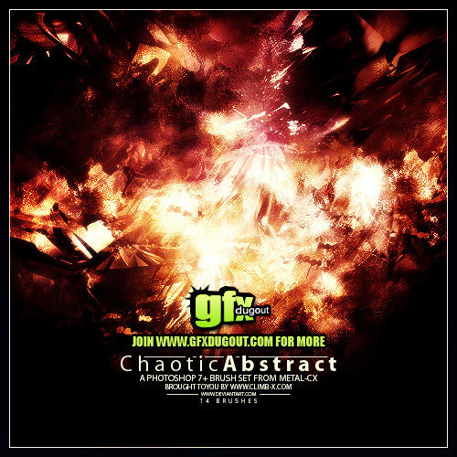 Metal-CX's Chaotic Abstract by Metal-CX