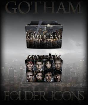 Gotham TV Series Folder Icons