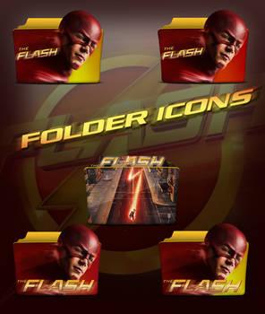 The Flash 2014 TV Series Folder Icons