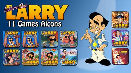 Leisure Suit Larry Games Aicons