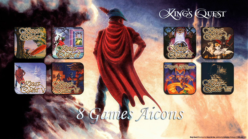 Kings Quest Aicons Pack by a666a