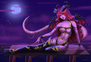 [OPEN] ADOPTABLE #38 (QUEEN OF SUCCUBUS) by DrugVaal