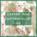 Coffee and watercolor 02