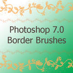 Border brushes for PS 7.0