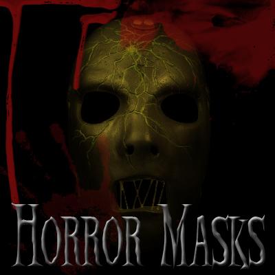 Horror Masks - brushes set