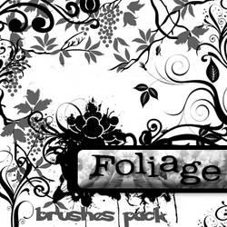 Foliage_brushes pack