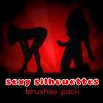 Sexy Silhouettes _ brushespack