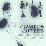 Comix Cuties_brushes pack
