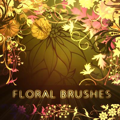 Floral Brushes - brushes set