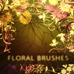 Floral Brushes - brushes set