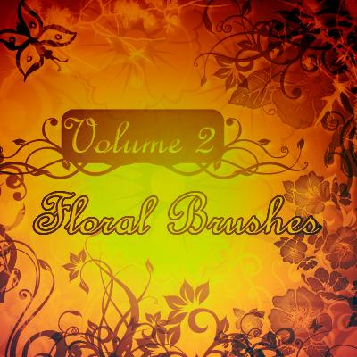 Floral Brushes Vol.2
