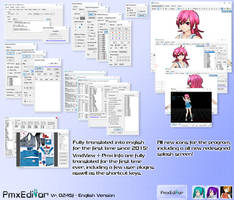 PmxEditor vr.0254f English Version - v2.0