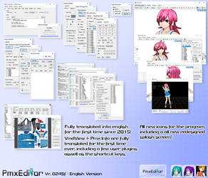 PmxEditor vr.0254f English Version - v2.0 by Inochi-PM