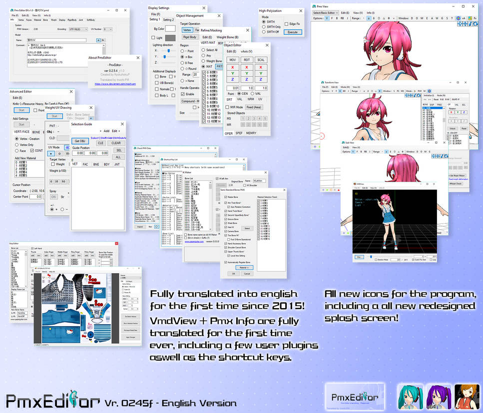 PmxEditor vr 0254f English Version - v2 0 by Inochi-PM on DeviantArt