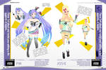 MMD Second Pack Template
