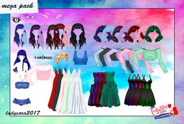 Mega Pack by ladysara2017