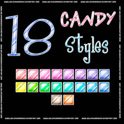 Candy Styles by WeLoveUnbroken