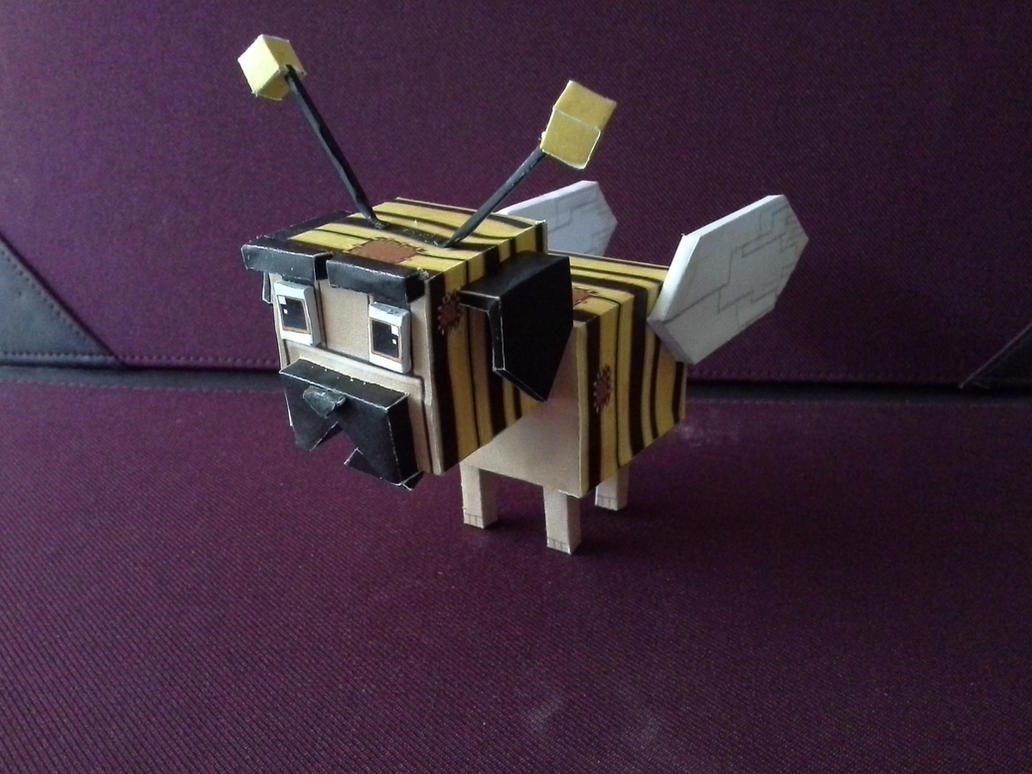 Sab Bee Dog Papercraft Template By Convexandconcave On Deviantart