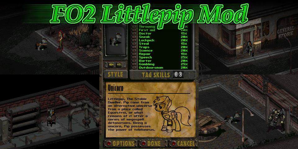 Fallout 2: Littlepip Mod by Donitz