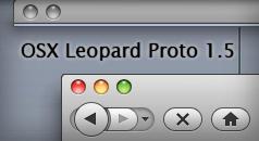 OSX Leopard Proto 1.5 by DavidtheDestroyer
