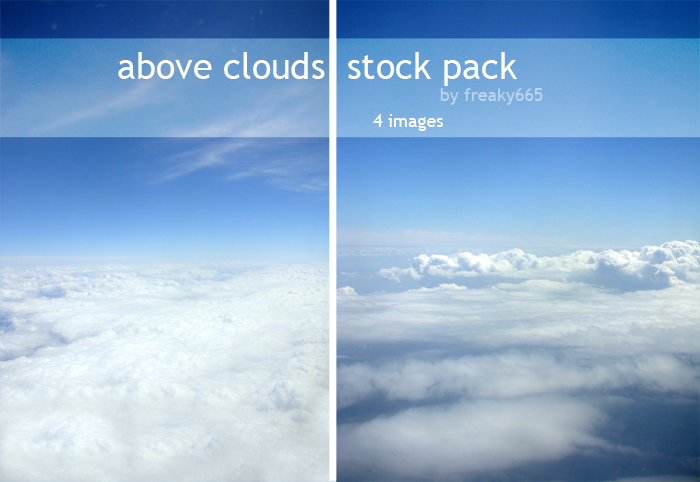 Above clouds-Stock pack