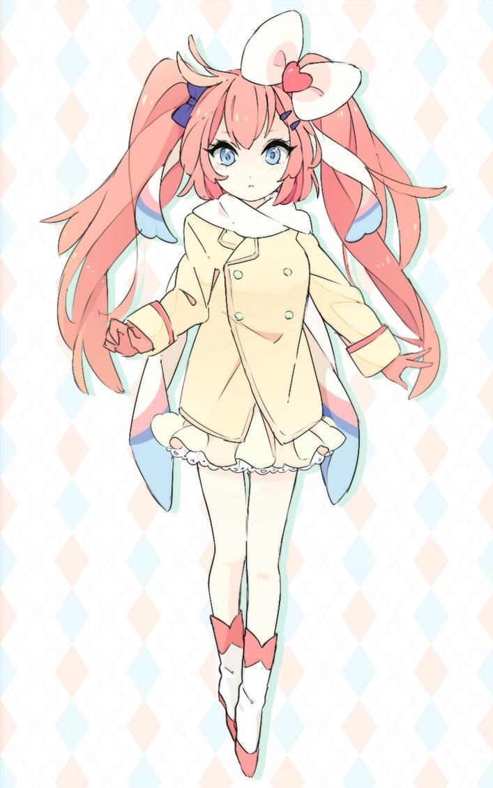 Female Anime Characters Male Reader : Gijinka female sylveon male reader magic by shadowfollowed on