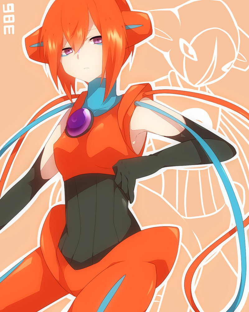Female Anime Characters Male Reader : Gijinka female deoxys male reader attention by shadowfollowed