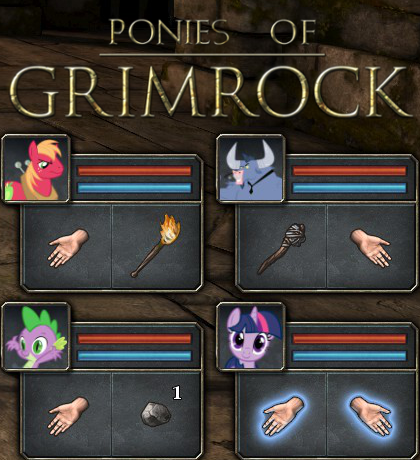 Ponies Of Grimrock by CobaltBrony
