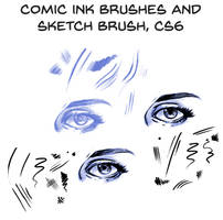 My comic lines brushes for PS CS6, free download