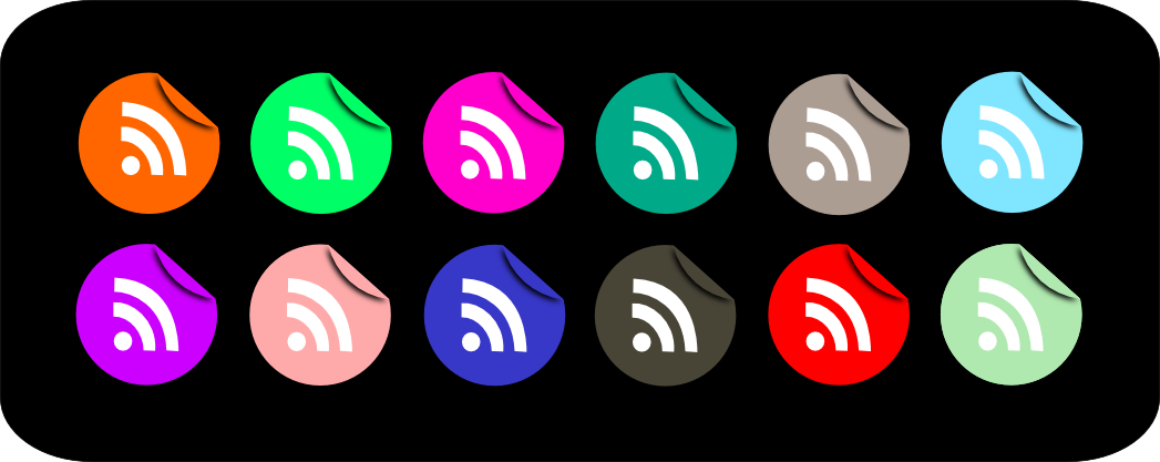 RSS Icons by mata-mhari