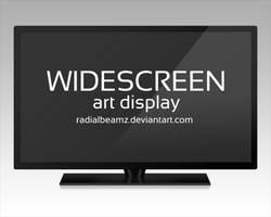 Widescreen Art Display by RadialBeamz