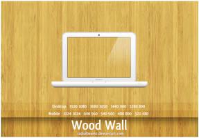 Wood Wall by RadialBeamz