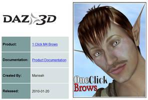 Marieah's 1-Click M4 Brows