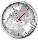 World Clock Gadget by Hurby