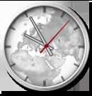 World Clock Gadget by Hurby