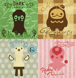 4 Chocolate Creatures