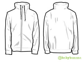 Jacket Template :D by babybanana