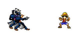 {Jump! Ultimate Stars Sprite} Yare Yare Ashes by UniversalKun