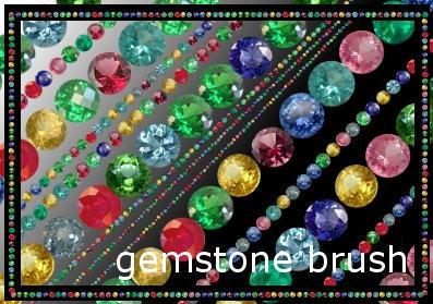 gemstone brush by cataglyphis